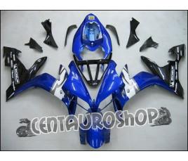 Carene ABS Yamaha YZF1000 R1 04 05 06 Blue monoposto