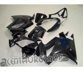 Carena in ABS per Honda VFR 800 Nero