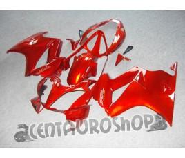 Carena in ABS per Honda VFR 800 rossa