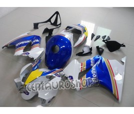 Carena in ABS per Honda VFR 800 Rothmans replica