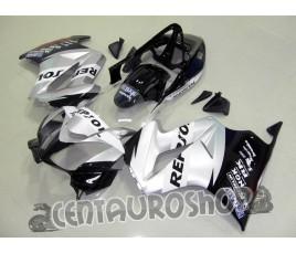 Carena in ABS per Honda VFR 800 Silver Repsol