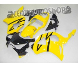 Carena in ABS Honda CBR 900 RR 954 02-03 colorazione Black & Yellow