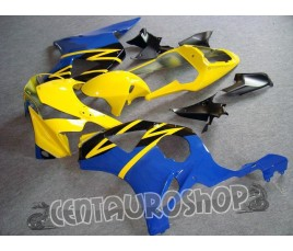 Carena in ABS Honda CBR 900 RR 954 02-03 colorazione Yellow & Blue