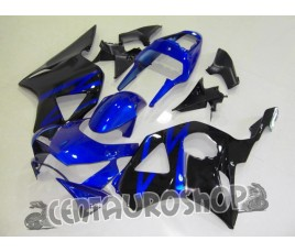 Carena in ABS Honda CBR 900 RR 954 02-03 colorazione Blue & Black
