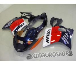 Carena in ABS Honda CBR 1100 XX 97-02 Repsol Moto gp replica