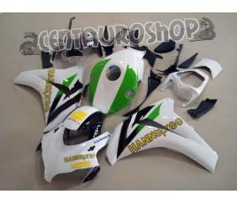 Carene ABS Honda CBR 1000RR 08-09 Green Hannspree da montare