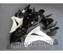Carena in ABS Honda CBR1000RR 08 09 colorazione Racing Black & White