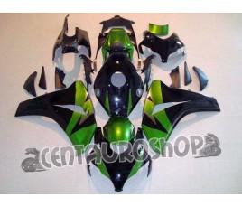 Carena in ABS Honda CBR 1000 RR 08-09 colorazione Green & Black