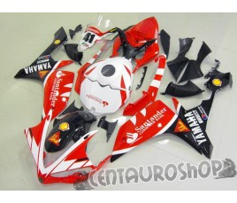 Carena in ABS Yamaha YZF 1000 R1 07-08 colorazione ROSSI FIAT