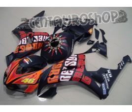 Carena in ABS Honda CBR 1000 RR 06-07 colorazione Rossi Matt