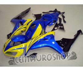 Carena in ABS Honda CBR 1000 RR 06-07 colorazione Blue & Yellow