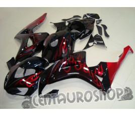 Carena in ABS Honda CBR 1000 RR 06-07 colorazione Flames