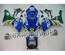Carena in ABS Honda CBR 1000 RR 06-07 colorazione Movistar