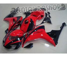 Carena in ABS Honda CBR 1000 RR 06-07 colorazione Red & Black