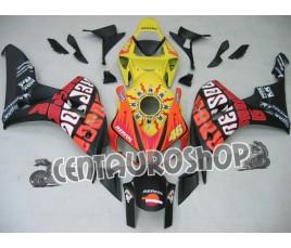 Carena in ABS Honda CBR 1000 RR 06-07 Rossi Yellow & Matt Black