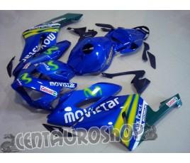 Carena in ABS Honda CBR 1000 RR 04-05 colorazione Movistar 2
