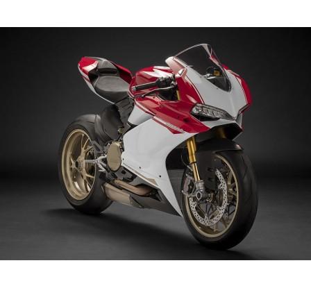 Carene per Ducati 959 e 1299 Panigale Anniversario Final Edition in abs bianco rosso e nero