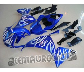 Carena in ABS Yamaha YZF 1000 R1 09-10 colorazione BLUE
