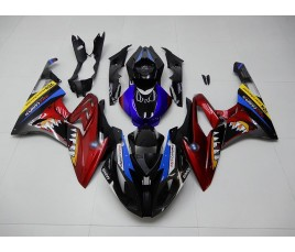 Carena in ABS per BMW S 1000 RR 2015 16 Misano Shark Multicolor