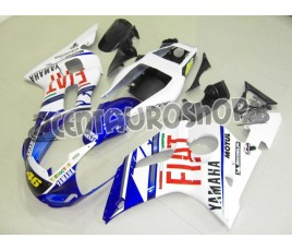 Carena in ABS Yamaha YZF 600 R6 99-02 colorazione BLUE