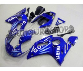 Carena in ABS Yamaha YZF 600 R6 99-02 colorazione ROSSI FIAT