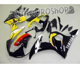 Carena in ABS Yamaha YZF 600 R6 04-05 colorazione MOON & SUN