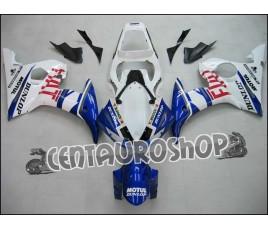 Carena in ABS Yamaha YZF 600 R6 04-05 colorazione ROSSI TRICOLOR