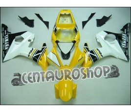 Carene complete Yamaha YZF600 R6 04 05 Anniversary Yellow