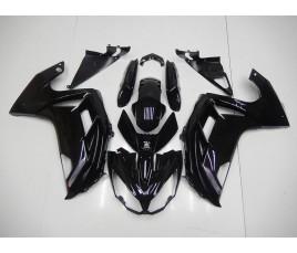 Carene ABS Kawasaki ER-6F 2012 2016 All Black