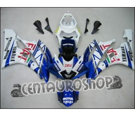 Carena ABS Yamaha YZF 600 R6 06-07 Rossi Fiat replica