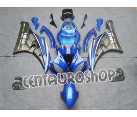 Carena in ABS Yamaha YZF 600 R6 06-07 colorazione RED & WHITE 2