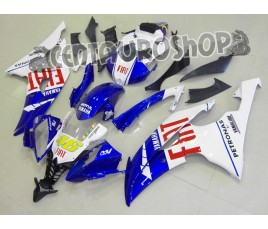 Carena in ABS Yamaha YZF 600 R6 06-07 colorazione ROSSI TRICOLOR