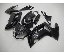 Carene ABS Kawasaki ER-6F 2012 2016 Total Carbon Look