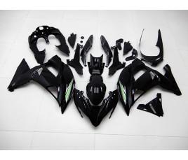 Carene in ABS Kawasaki Ninja 650R 2017 2019 All Black