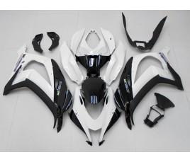 Carena in ABS Kawasaki ZX-10R Ninja 16 - 19 All White