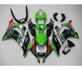 Carena in ABS Kawasaki ZX-10R Ninja 16 - 19 Superbike Rea replica