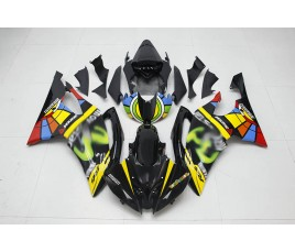Carena ABS Yamaha YZF600 R6 2008 2016 Rossi Motogp Mugello replica