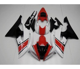 Carene in ABS Yamaha YZF 600 R6 08 16 red and Black Anniversary