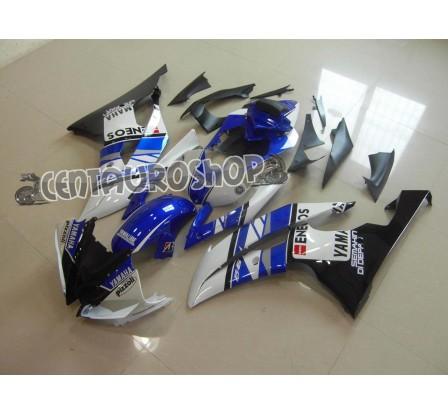 Carene in ABS Yamaha YZF 600 R6 08 16 Rossi MotoGP Eneos replica