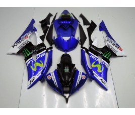 Carene in ABS Yamaha R6 08 16 M1 MotoGP 2016 Vale e Jorge replica