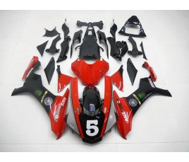 Carena ABS Yamaha YZF 1000 R1 2015 16 Red Black & Grey