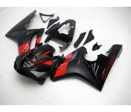 Carena in ABS Triumph Daytona 675 09 12 Black and Red