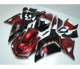 Carena in ABS Kawasaki ZX-14R Ninja 12-15 Candy Red