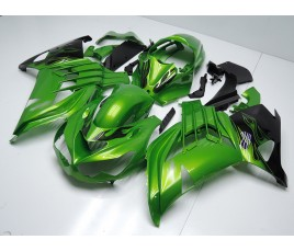 Carena in ABS Kawasaki ZX-14R Ninja 12-15 Lime Green