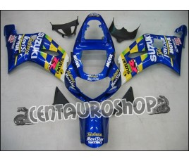 Carena in ABS Suzuki GSX-R 600 e 750 01-03 colorazione MOVISTAR 2