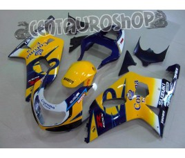 Carena in ABS Suzuki GSX-R 600 e 750 01-03 colorazione JORDAN