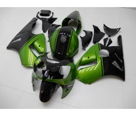 Carena in ABS Kawasaki ZX-12R Ninja 00-01 Grren and Black