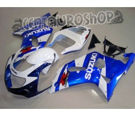Carena in ABS Suzuki GSX-R 600 e 750 01-03 colorazione REDBULL