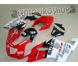 Carena in ABS Suzuki GSX-R 600 e 750 01-03 colorazione CLASSIC 2