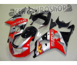 Carena in ABS Suzuki GSX-R 600 e 750 01-03 colorazione LUCKY STRIKE